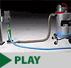 CS 2000 Water Recycling & Slurry Containment Vacuum System