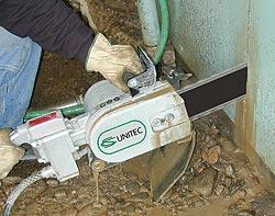 Pneumatic Concrete Chain Saws And Saw Blades By Cs Unitec
