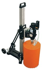 "Hydraulic Core Drill with a Drilling Capacity of up to 12"" in diameter"