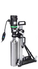 "Electric Core Drill with a Drilling Capacity of up to 6"" in diameter"