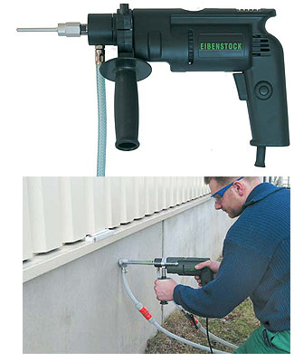 Mini Diamond Core Drill with Water-Cooled Bits