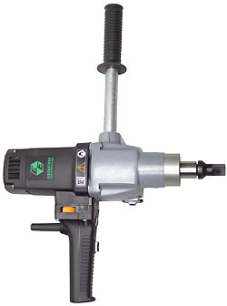 Slow-speed electric drill and drive unit - high torque