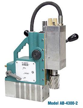 CS Unitec AIRBOR™ AB-4300-2 Pneumatic Magnetic Drill