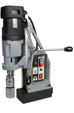 Lightweight, two-speed high-performance drill