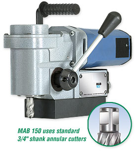 MAB 150 – Portable Magnetic Drill