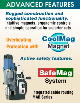 Magnetic Drill Advanced Features
