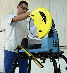 Dry Cutting Chop Saw - 14-in. diameter