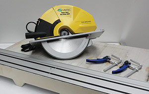 Dry Cutting Circular Saw Guide Rails