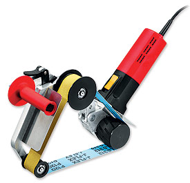 Electric pipe sander