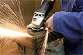 All-in-One Angle Grinder/Finishing, Blending & Polishing Machine