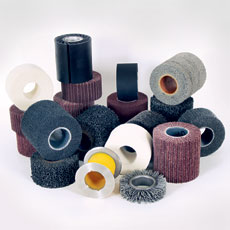 Hollow-core abrasive wheels
