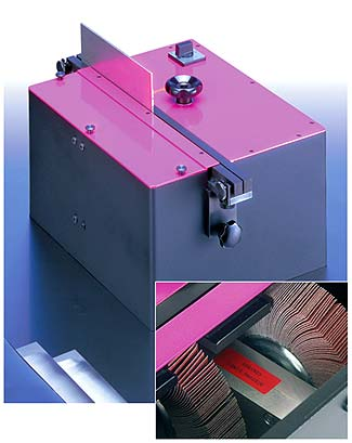 Deburring machine - double sided - for metal sheets