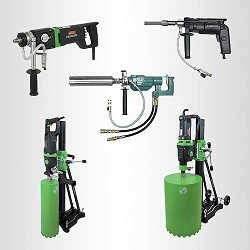 concrete drills with dust collection