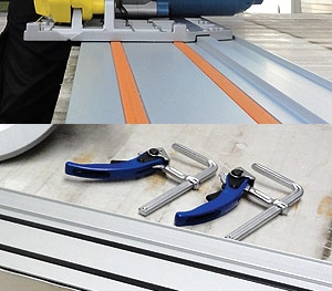Guide Rail with Clamping System (P/N 608275)