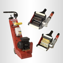 concrete and metal scarifiers