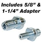 core end 130 adapters