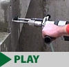 Diamond Drill with Water Cooled Bits
