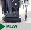 Portable Magnetic Drill Automatic Feed Reverse Feature Video