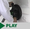 "9"" Drywall Sander with Dust Collection"