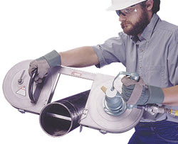 portable pneumatic bandsaws