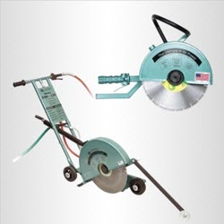 pneumatic concrete cut off saws