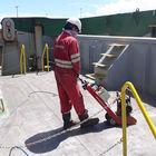 Trelawny Deck crawler descaling transport ship deck