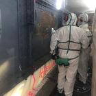 Eliminación rápida de revestimientos peligrosos de plomo y amianto con raspadores