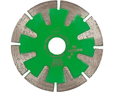 """4-1/2"""" diamond blade for curved cuts"""