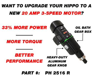Hippo Portable mixing station 3 speed motor ph 2516 R