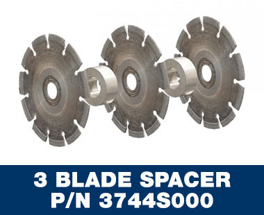 EMF 180.2 Wall Slotter 3 Blades