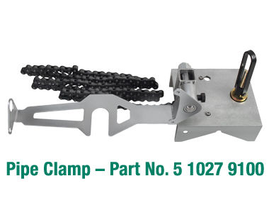 Pipe clamp for 5 1027 Series