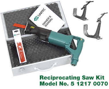 Reciprocating saw kit contents