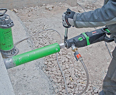ETN 162/3 P Hand-Held Diamond Core Drill Wet Drilling Application
