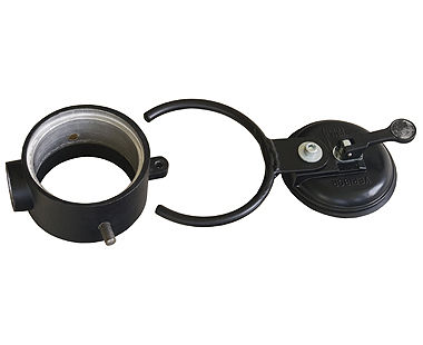 Water suction ring for drill
