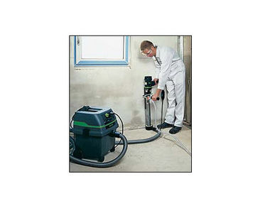 CS 1225 6.6-gallon Wet/Dry Industrial Vacuum in Action