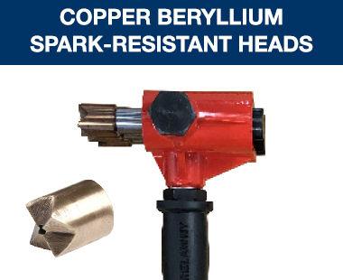 Copper Beryllium Spark-Resistant Heads
