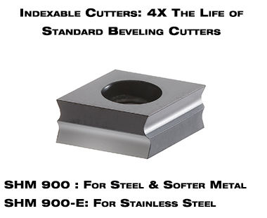EKF 600 Series Bevling Cutter Inserts