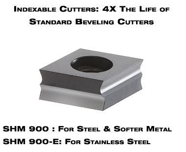 Insertos de Corte por EKF 600 serie máquina de biselado portátil de metal