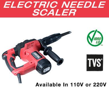 Electric Needle Scaler Info