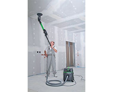 ELS 225.1 Long-Reach Drywall Sander application