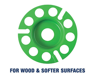 EOF 100 Paint Shaver Wood Disc