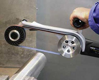 amoladora de correa de tubo eléctrica PIPE-MAX