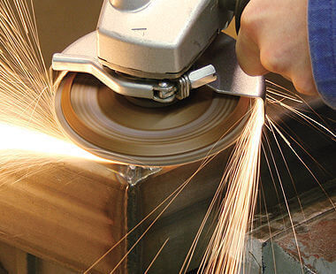 powerful angle grinder