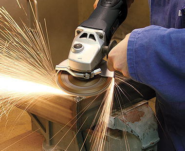 variable speed angle grinder