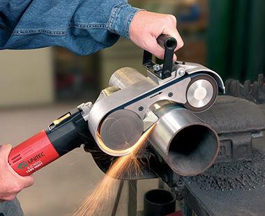 LBR 1506 AIR pipe sander application-1