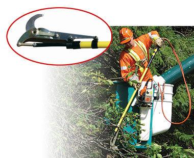 Hydraulic Lopper with cutting end