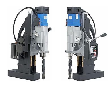 Taladro magnético portátil MAB 1300 V con avance automático frente y espalda