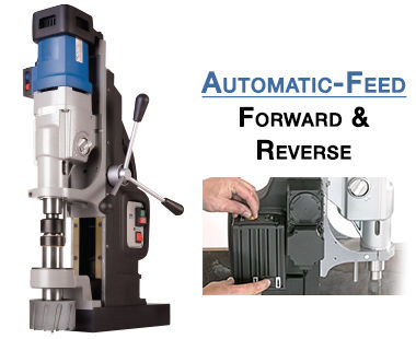 MAB 1300 V Automatic-Feed Portable Magnetic Drill