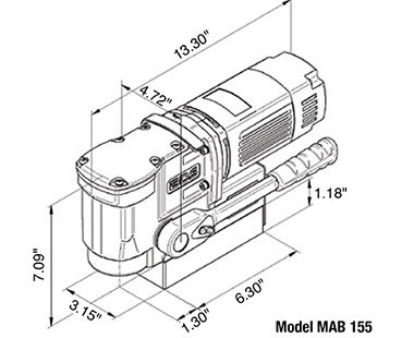 MAB 155 diagram