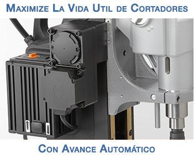 avance automático de Taladro magnético portátil MAB 825 V
